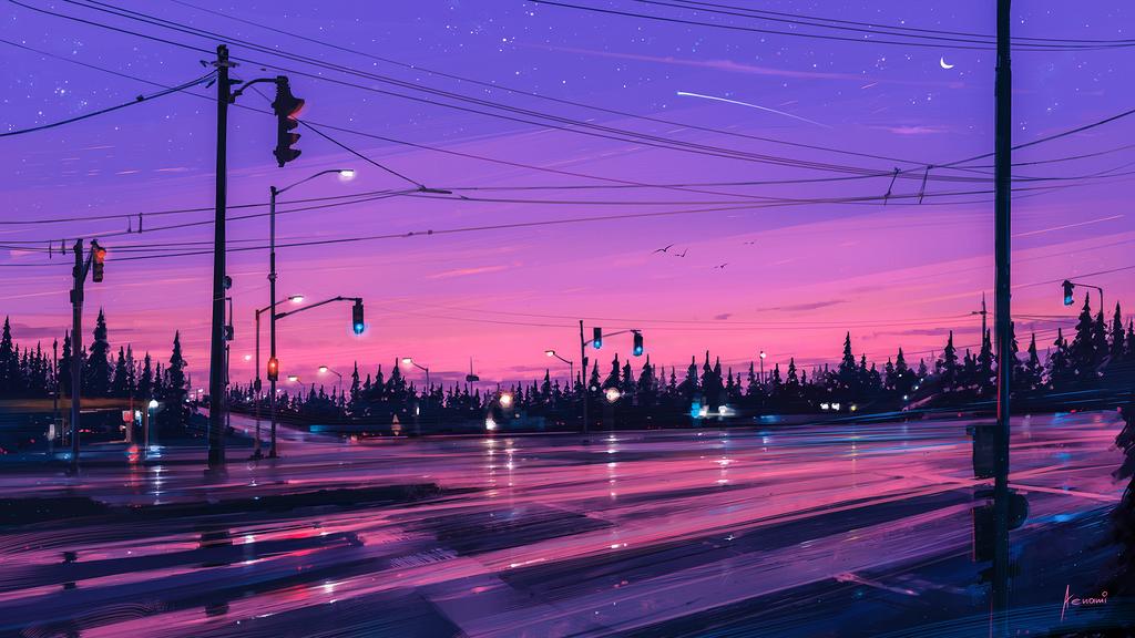 7 p.m. by Aenami