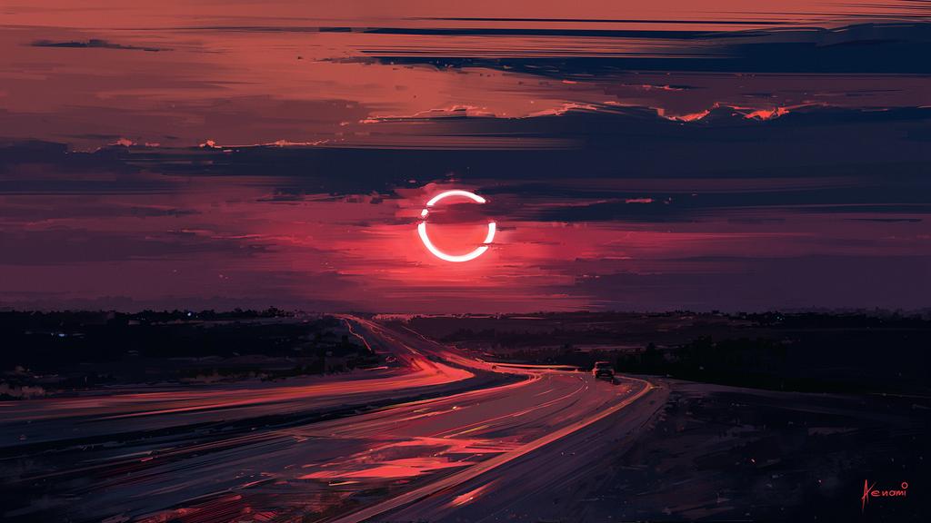 Eclipse by Aenami