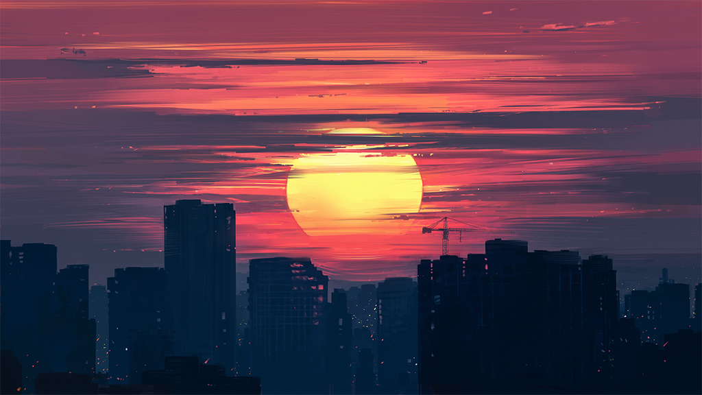 Dawn by Aenami