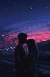 Love by Aenami