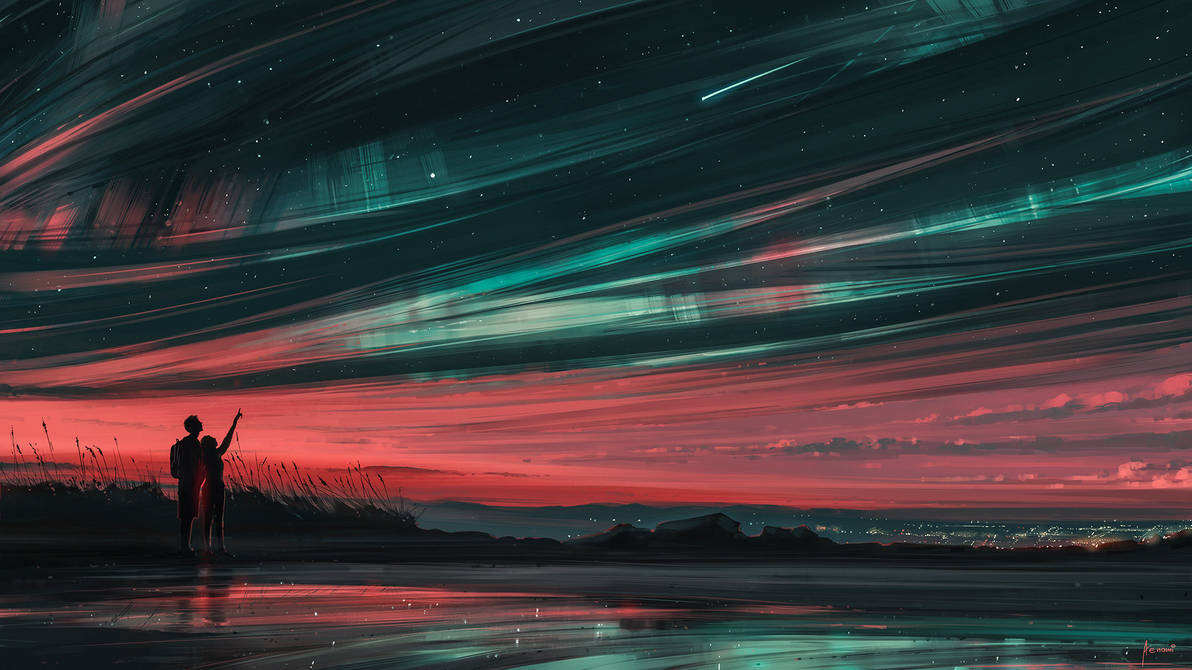 Stars and You by Aenami