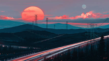 Away In Silence by Aenami