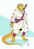 Dragonbard 2.0 [Commission] by Dotdotdotart