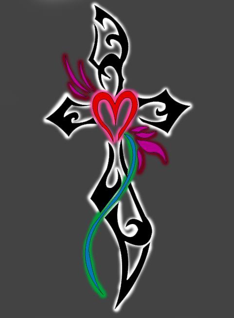 tribal cross wallpaper by - photo #12