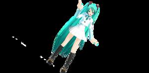 Newcomer School Miku + Bonus Miku MMD + DL by AlexisLay123