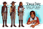 Jorge Diaz | Ref Sheet by tepidti