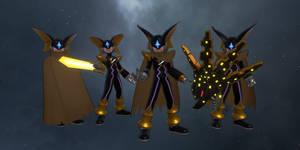 Mega Man Battle Network - Bass (FBX, VRChat) DL
