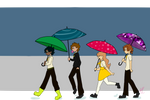 Umbrella Stroll by terezi-pyrope2