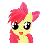 bed mane applebloom