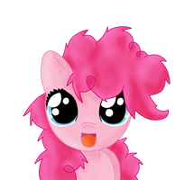 bed mane filly pinkie pie by Sharkiity