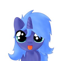 bed mane filly princess luna by Sharkiity