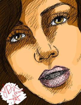 Eliza Dushku -Colored