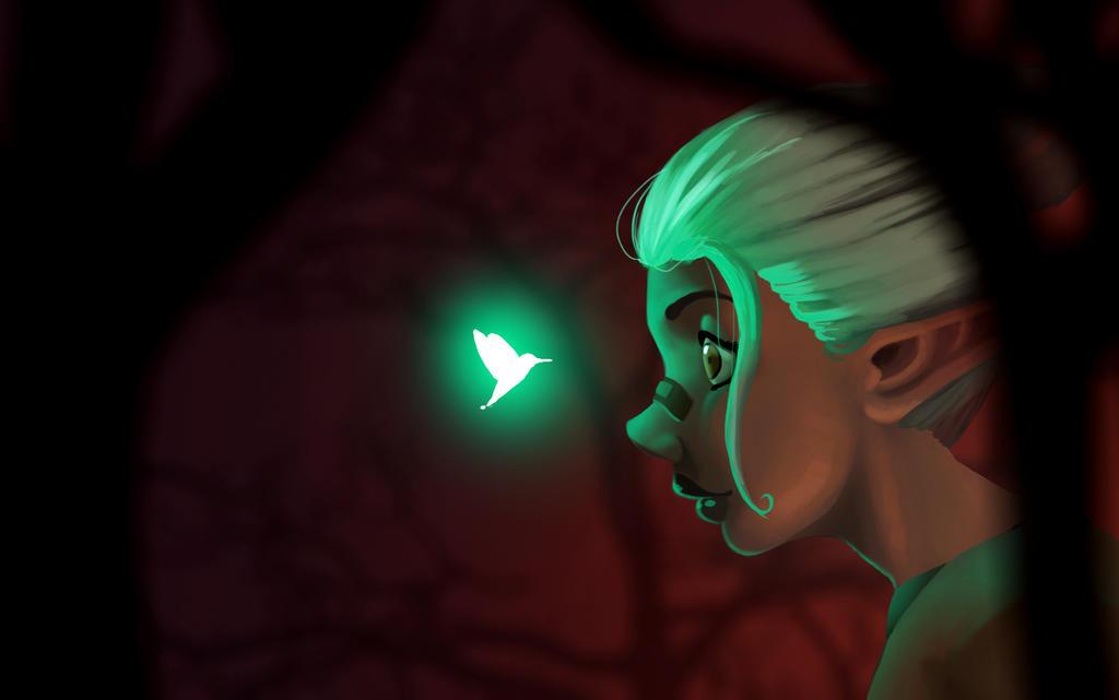 Green bird by StefanoGil