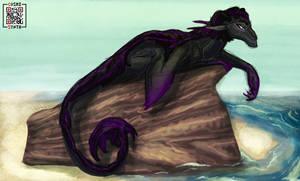 Aquatic Xonatlan Dragon Lounge Time