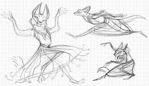 More Possible Updated Huehuecoyotle Doodles