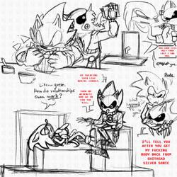 Sonic Needs Relationship Advice