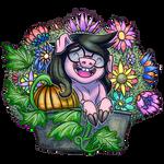 Sudrien - Jadepig Icon 2 - Flower Trough