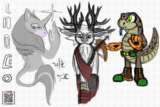 Some Mobian Cryptids and Anomalies