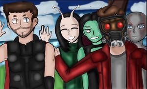 Guardians of the freakin' Galaxy