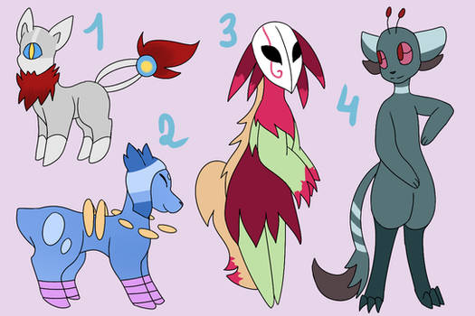[CLOSED] Creature Adopts [10 POINTS]
