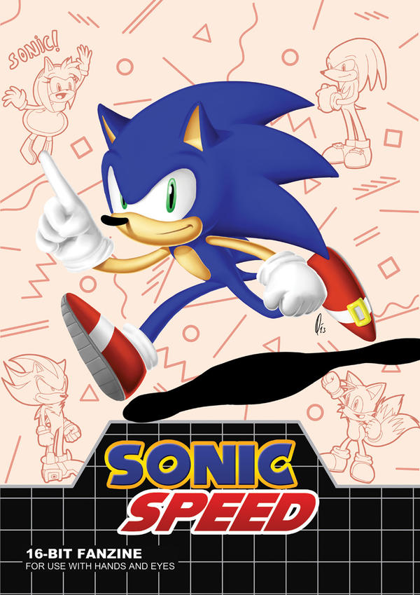SONIC SPEED - Cover