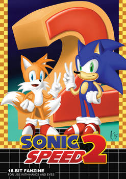 SONIC SPEED 2 (Cover)