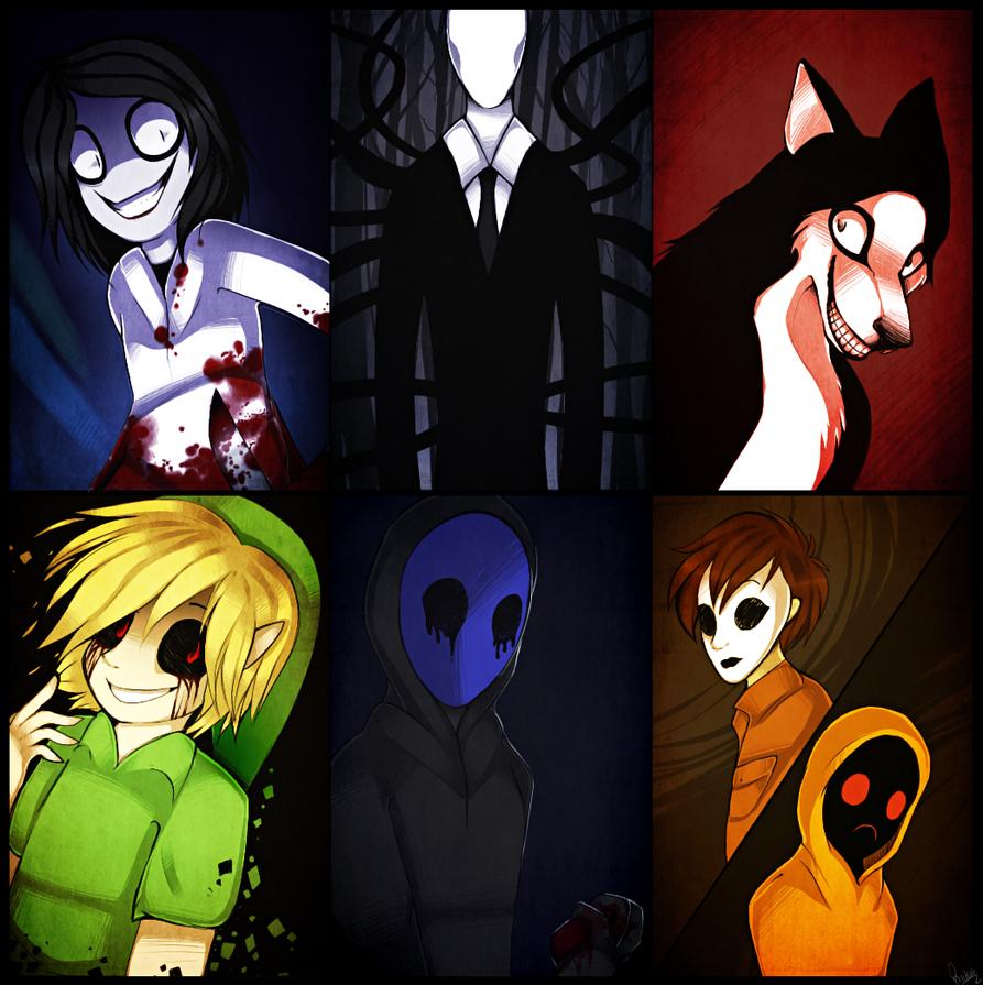 Creepy guys by Riikari