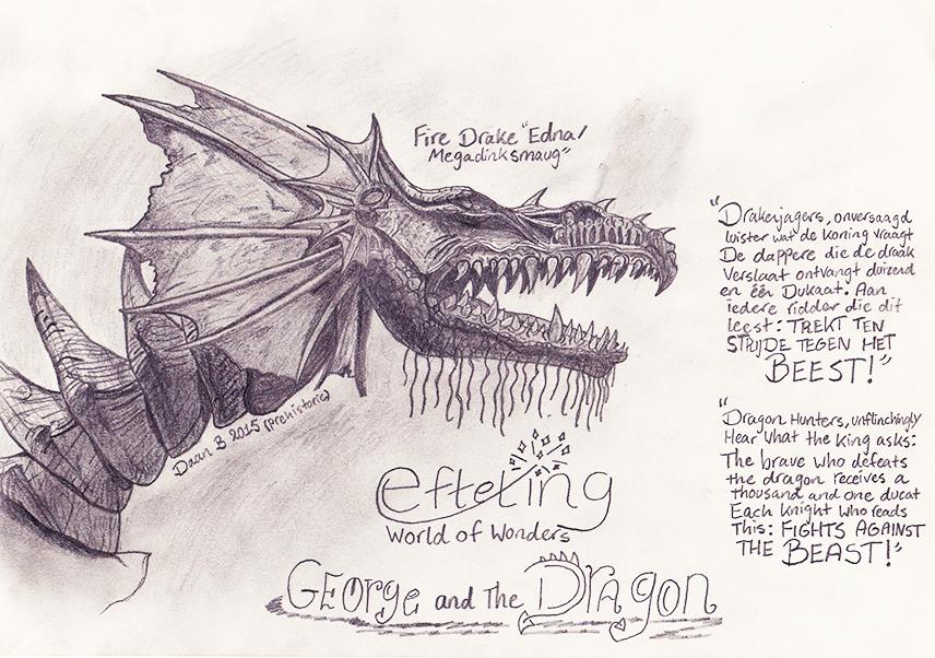 Efteling Dragon by XenoTeeth3