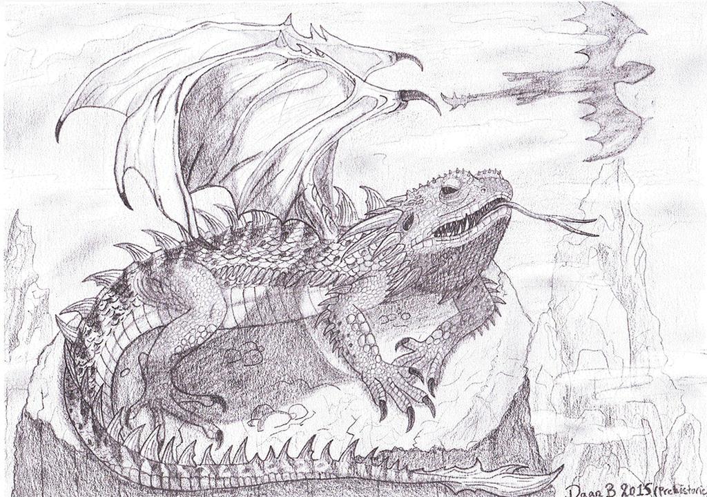 Bearded dragon (literally) by XenoTeeth3