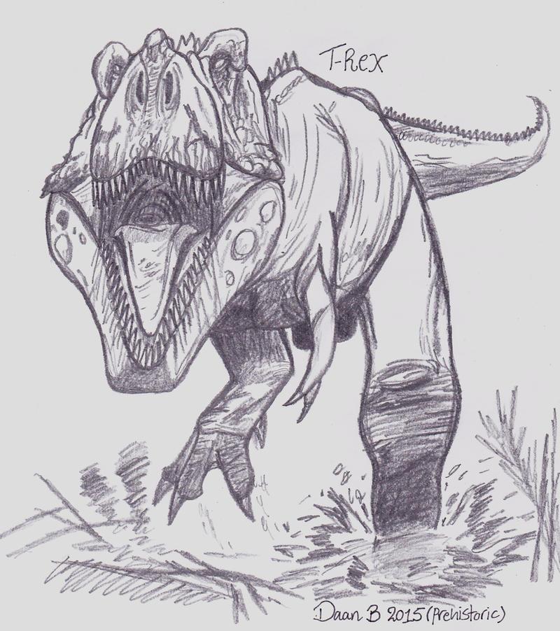 Tyrannosaurus Rex by XenoTeeth3