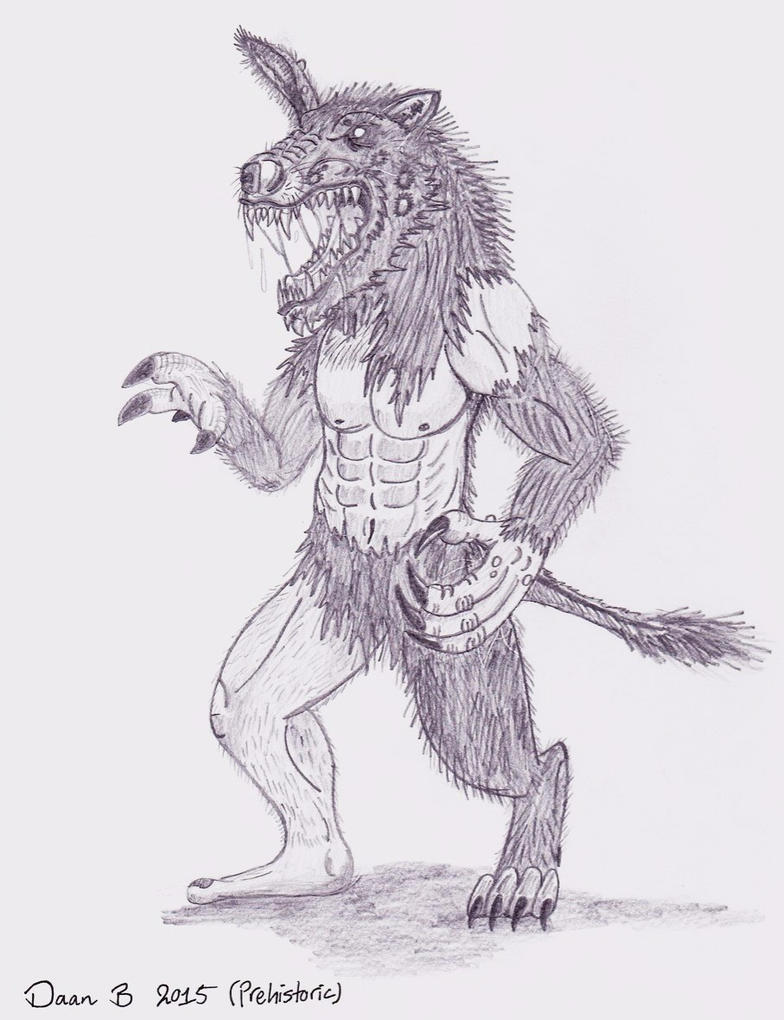 Donkeymanwolf by XenoTeeth3