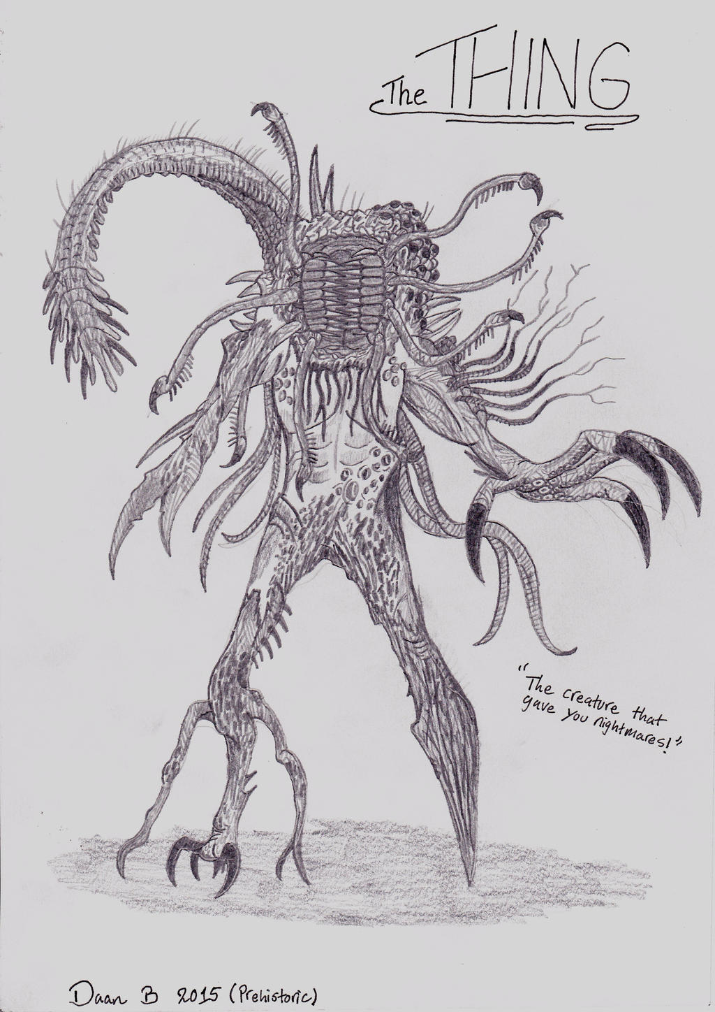 The Thing by XenoTeeth3