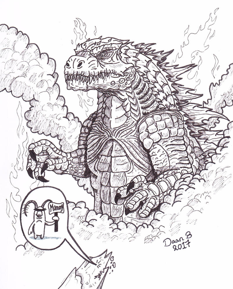 The King Of The Monsters! by XenoTeeth3