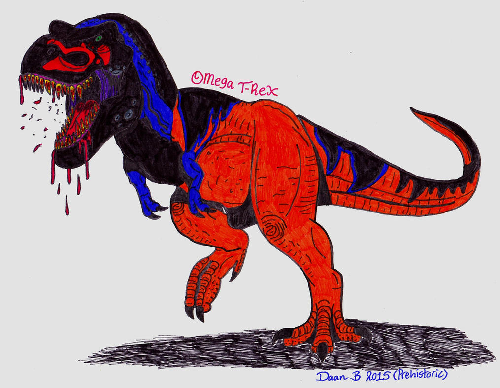 Omega T-rex by XenoTeeth3