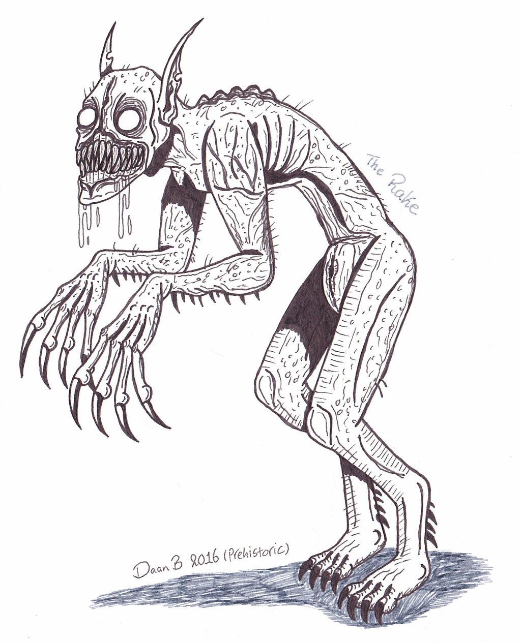 The Rake (creepypasta) by XenoTeeth3