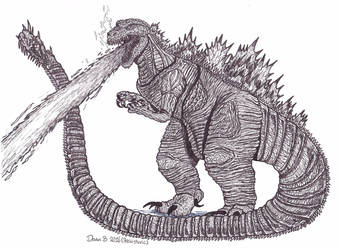Shin Godzilla by XenoTeeth3