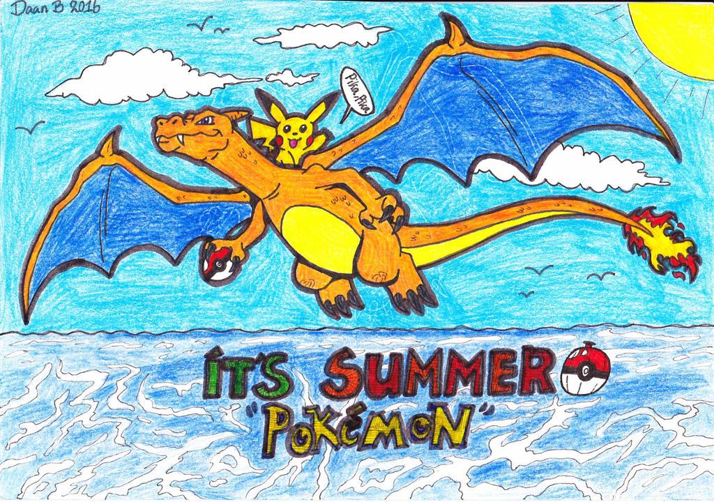 Poke Summer by XenoTeeth3
