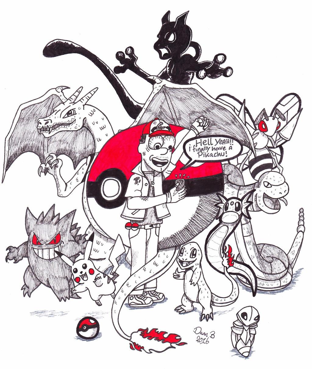 Pokemon GO by XenoTeeth3