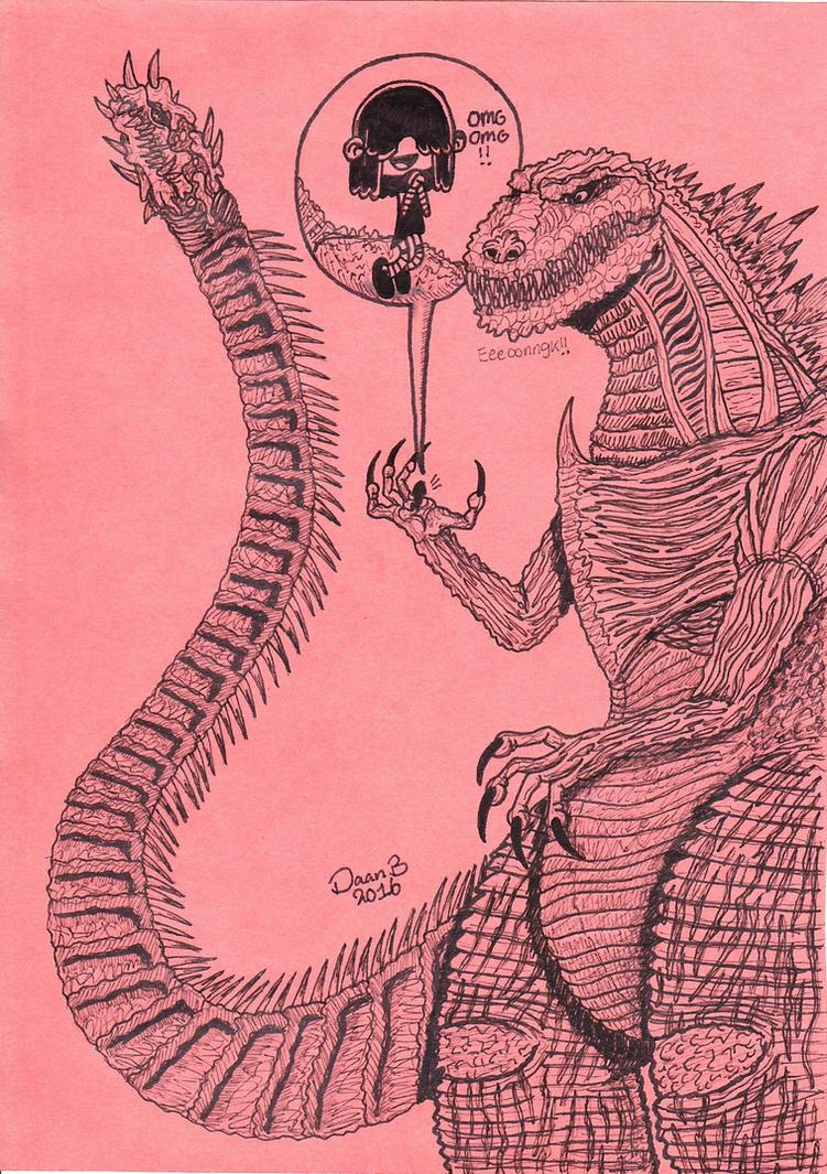 Godzilla Resurgence by XenoTeeth3