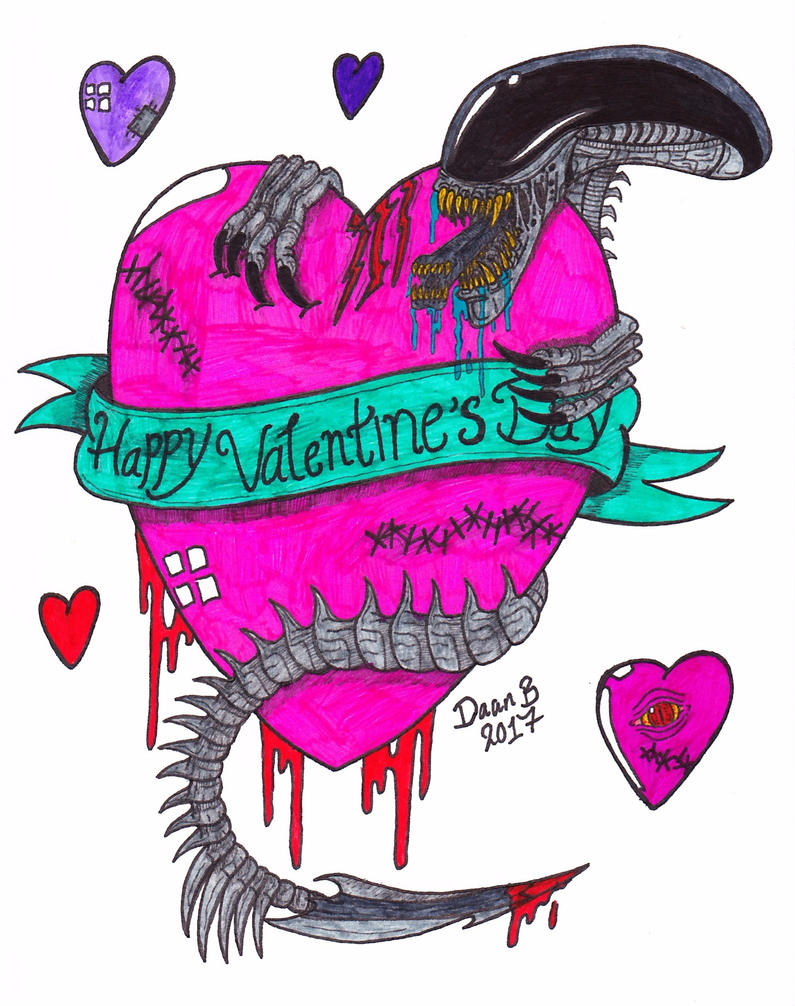 Valentines Day 2017! by XenoTeeth3