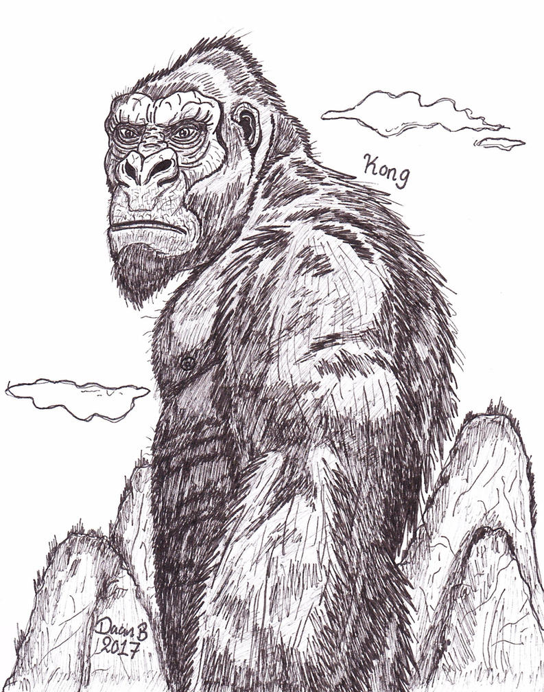 Kong (MonsterVerse) by XenoTeeth3