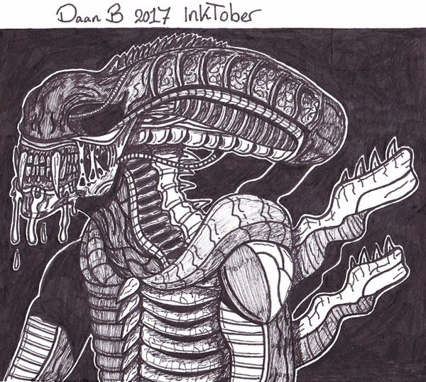 Fanged Xenomorph by XenoTeeth3
