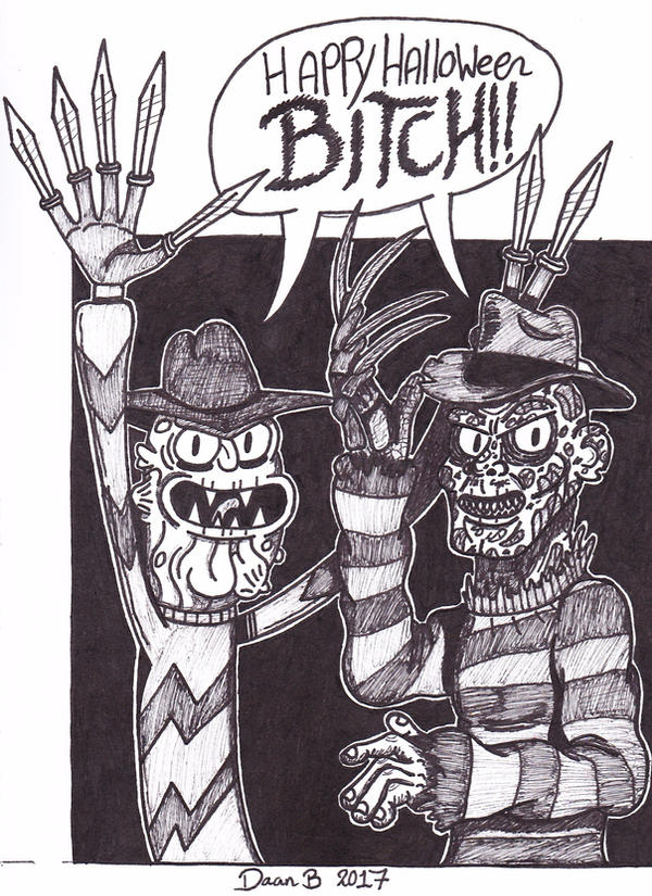 BITCH!! by XenoTeeth3
