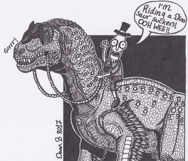 Dino ride by XenoTeeth3