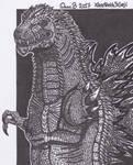 Godzilla (own design)