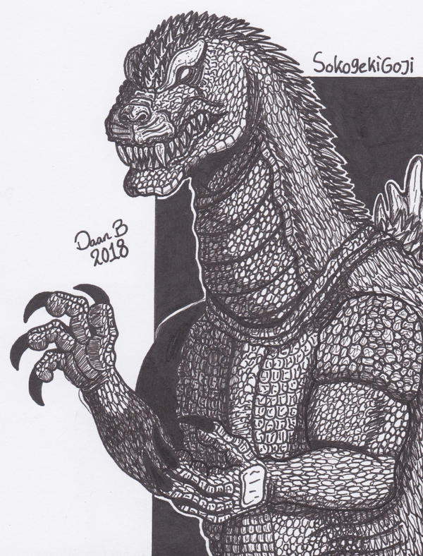 Godzilla (GMK) by XenoTeeth3