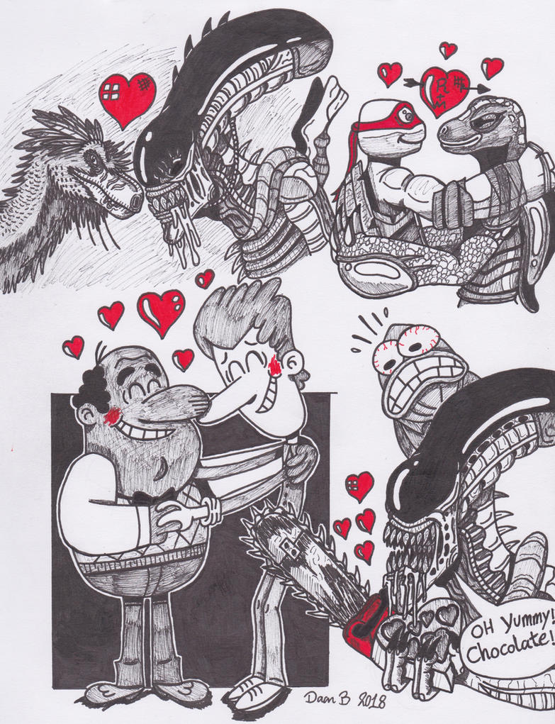 Valentine's Day 2018 by XenoTeeth3
