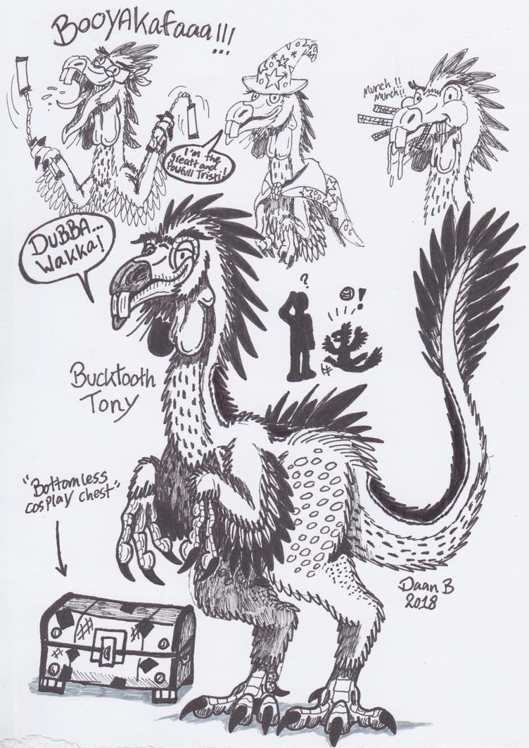 Bucktooth Tony by XenoTeeth3