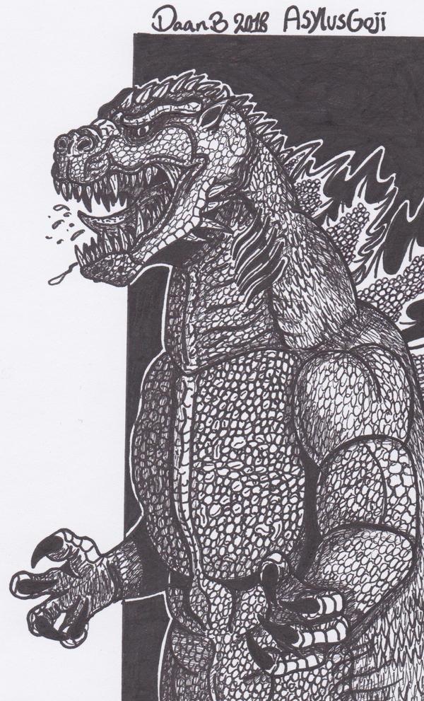 Godzilla (AsylusGoji) by XenoTeeth3