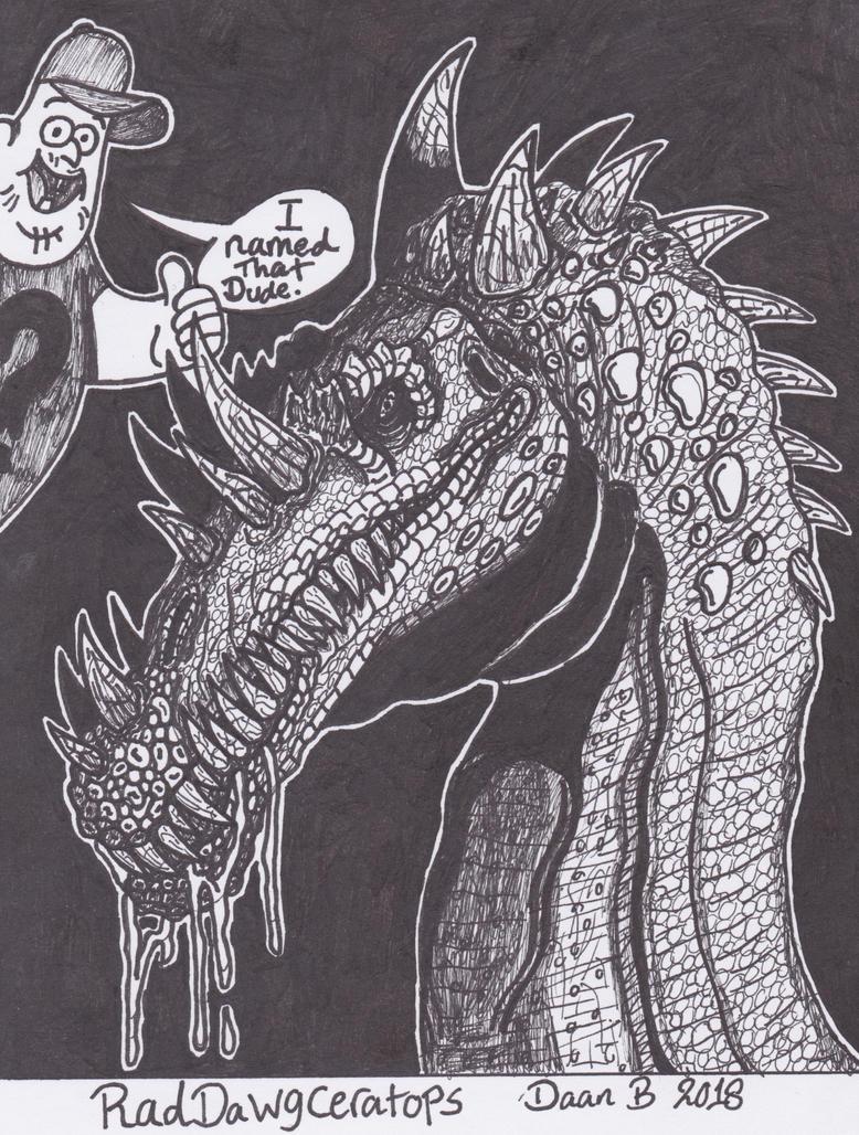 One Rad dinosaur by XenoTeeth3